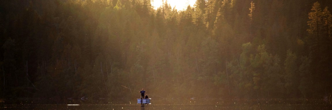 Summer Evening Fly Fishing at Echo Lake Resort