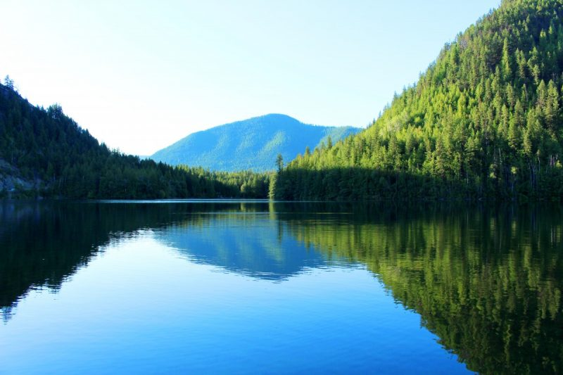 About echo lake resort cabins and campground lumby bc for Echo lake ca cabine