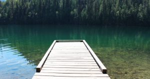 Echo Lake Cabin 5 Dock