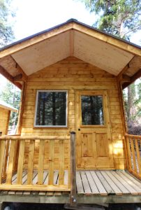 Echo Lake Resort Camping Cabins 8 and 9