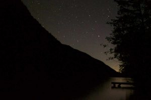 Echo Lake Resort Night Sky